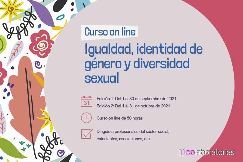 Curso on line Igualdad, identidad de género y diversidad sexual
